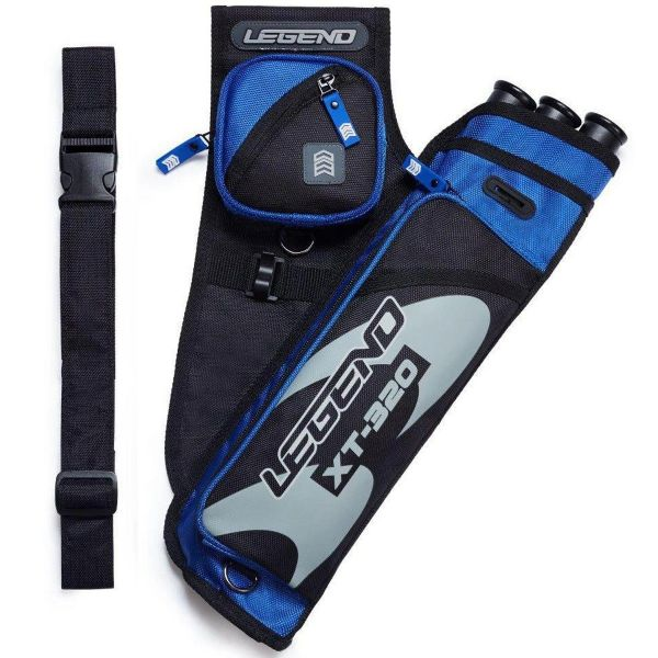Legend Side Quiver XT-320 with belt, RH